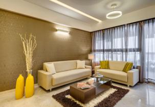 Interior design by Lovekar Design Associates for Green Clouds.