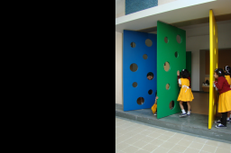 Interior design by Lovekar Design Associates for Abhinav School.