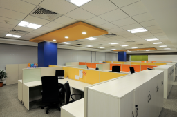 Interior design by Lovekar Design Associates for Kimberly Clark .