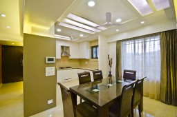 Interior design by Lovekar Design Associates for Sathes.