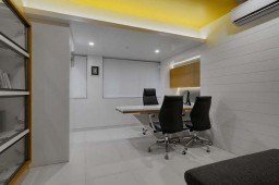 Interior design by Lovekar Design Associates for Wakankar Clinic.