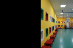 Interior design by Lovekar Design Associates for Wisdom School.