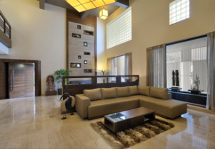 Interior design by Lovekar Design Associates for Bandal Bungalow.